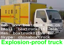 Explosion-proof truck